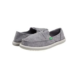 Sanuk | Pick Pocket Fleece Slip On Loafer in Grey